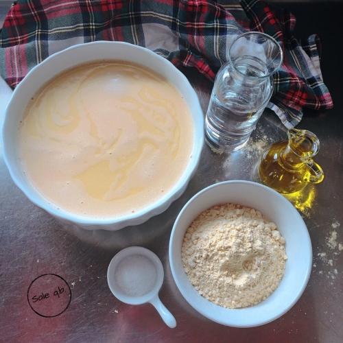 Preparazione Cecina Toscana