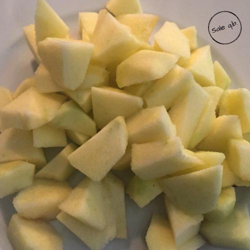 mele a pezzi