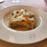lasagne al ragù di pesce