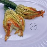 fiori di zucchina e ricotta