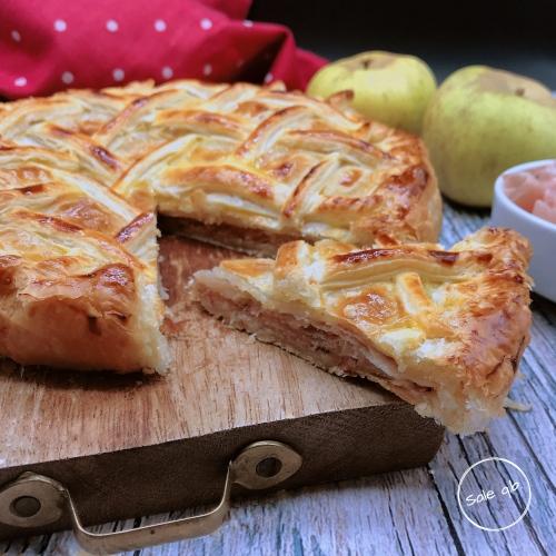Pie di Mele e Pancetta fetta